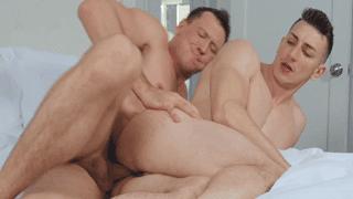 Pierce Paris & Michael Jackman male massage video