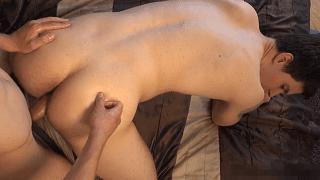 Free gay daddy porn doggy style