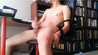 中国 同性恋 学生 手淫 看 色情 Chinese student gay man masturbation watching porn online