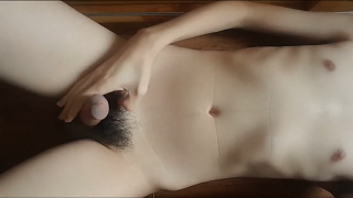 光滑的twink中国男孩裸体小公鸡同性恋手淫 Smooth twink China boy nude small cock gay wank